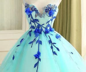 short homecoming dresses, blue homecoming dresses, and light blue prom dresses image