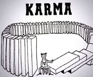 karma and life image