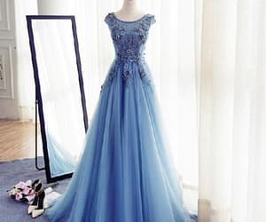modest prom dress, custom made prom dress, and evening dresses ball gown image