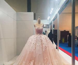 dresses pink, custom made dresses, and dresses lace image
