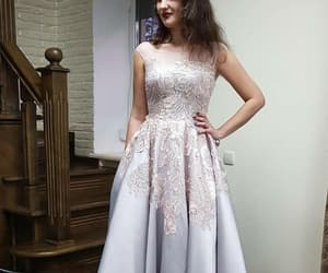 simple prom dress, a-line prom dress, and prom dress 2018 image