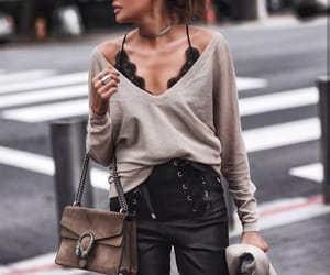outfit, girl, and chic image