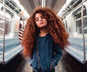 curly, fashions, and girl image