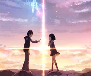 anime, couple, and movie image