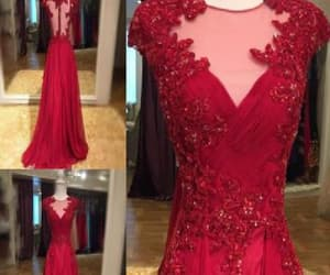 chiffon party dresses, long party dresses, and prom dresses lace image