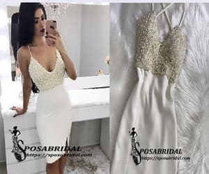 homecoming dress, custom made prom dress, and sexy homecoming dresses image