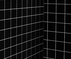 black, white, and wallpaper image