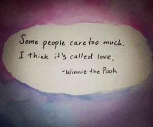 caring, pooh, and winniethepooh image