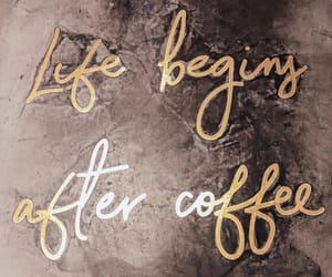 background, coffee, and phrases image