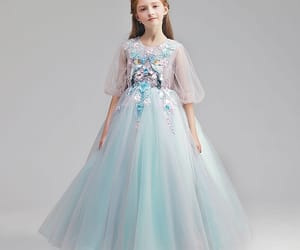 tulle dress, 2019, and sky blue dress image
