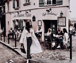 cafe, fashion, and travel image