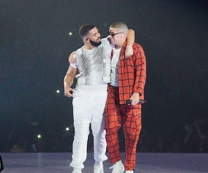 Drake, badbunny, and mia image