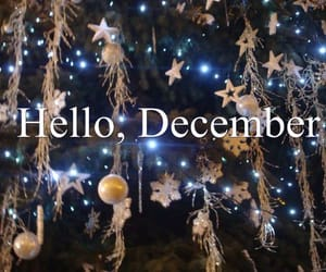 hello december, december wishes, and hello december images image