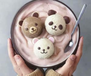 food, cute, and bear image