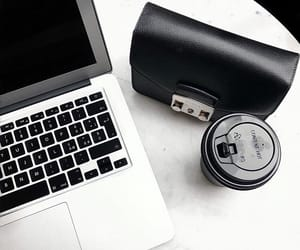 black, coffee, and computer image