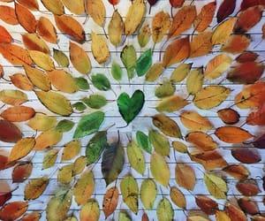 art, autumn, and creativity image