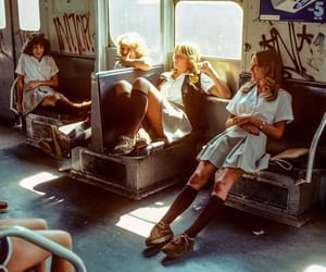 vintage, 70s, and subway image