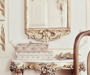 gold, victorian, and vintage image