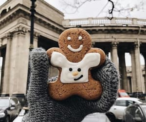 christmas, winter, and cookie image