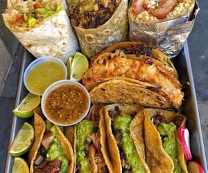 burrito, delicious, and eat image
