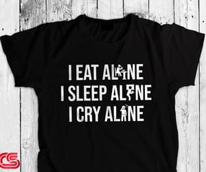 black shirt, cute shirts, and depression shirt image