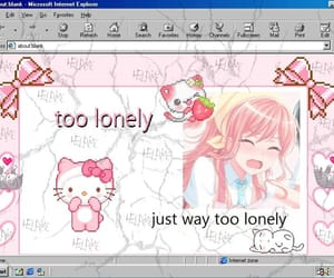 lonely, aesthetic, and cyber image