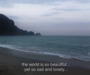 lonely, sad, and world image