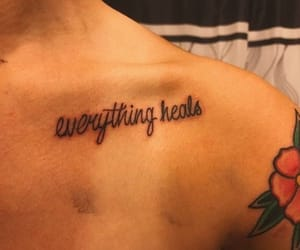 quotes, trill ink, and Tattoos image