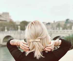 adorable, blonde hair, and cities image