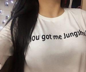 me, jungkook, and shirt image
