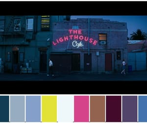 color palette, dark, and film image