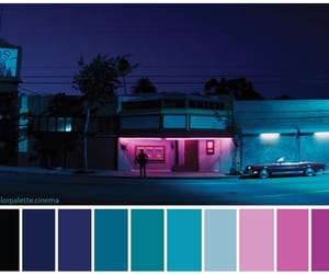 color palette, colours, and dark image