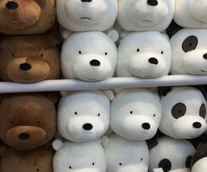 bear, panda, and toys image