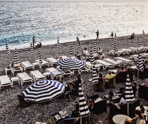 beaches, france, and nice image