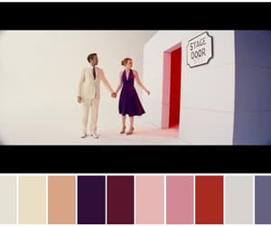 color palette, colours, and emma stone image
