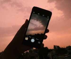 iphone, sky, and aesthetic image
