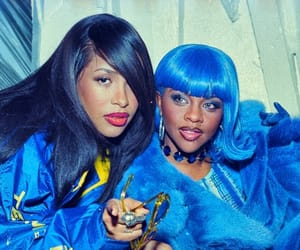 90s, aaliyah, and blue image