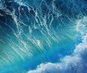 wallpaper, sea, and blue image
