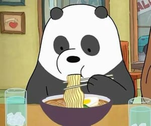 panda, we bare bears, and bear image