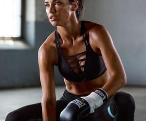workout, Adriana Lima, and model image