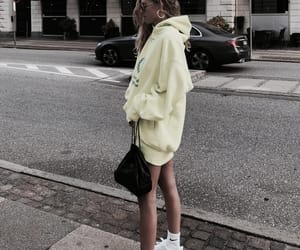 fashion, outfit, and neon image