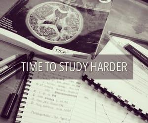 study, school, and hard image