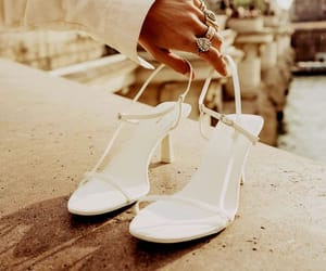 fashion, white, and sandals image