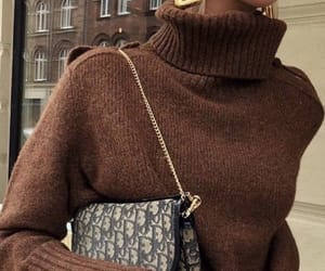 fashion, sweater, and fall outfit image