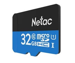 netac and micro sd cart 32gb image