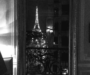 beautiful, black and white, and france image