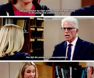 die, young, and the good place image