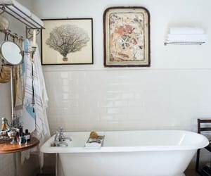 bathroom and vintage image