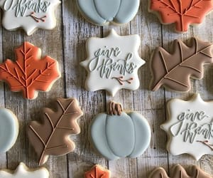 autumn, Cookies, and decor image
