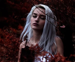 aesthetic, fall, and girl image